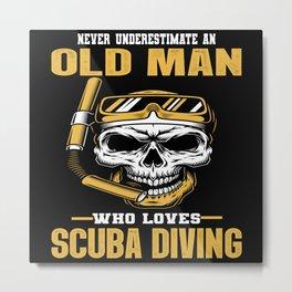Do You Love Diving? Metal Print