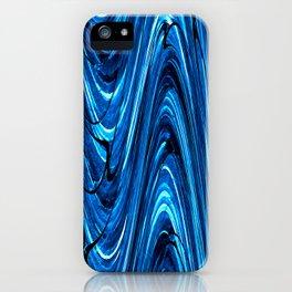 Blue Haze iPhone Case