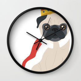 Great King Dog Wall Clock