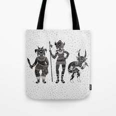 Shadow Warriors Tote Bag