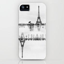 Merde Il Pleut iPhone Case