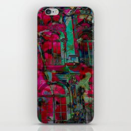 Psychedelic windows iPhone Skin