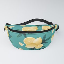 Lemon Twist Vibes #6 #tropical #fruit #decor #art #society6 Fanny Pack