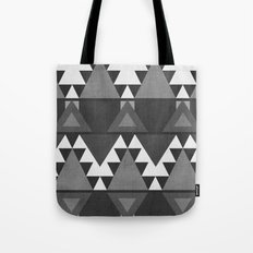 Aztec Grey Tote Bag
