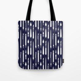 Create (dark blue version) Tote Bag