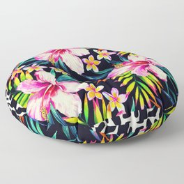 tropical wild 2 Floor Pillow