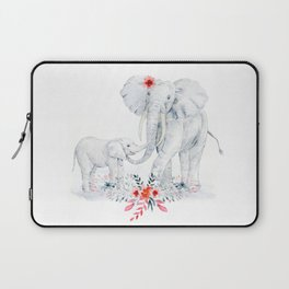 Mother's Day (Mother and Baby Elephants) Laptop Sleeve