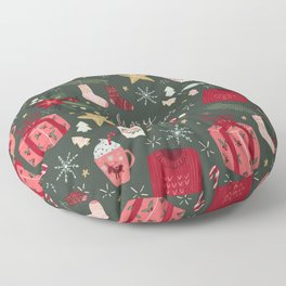 Merry Christmas Floor Pillow