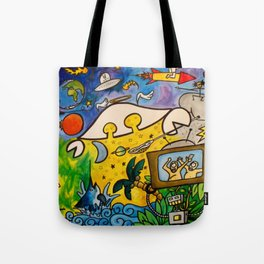 CRB in Outerspace Tote Bag