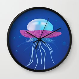 I Don't Think You're Ready For This Jelly(fish) Wall Clock
