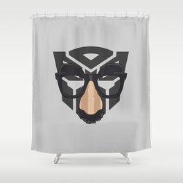 Robot In Disguise Shower Curtain