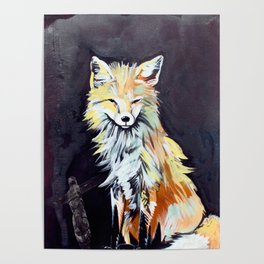 Fox Totem Poster