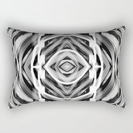Light Dance Dark Ripples Rectangular Pillow