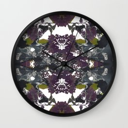 Floral Pelvis Wall Clock