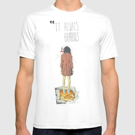 It Always Happens | Collage T-shirt