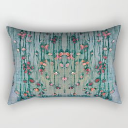 Cottage Roses Rectangular Pillow