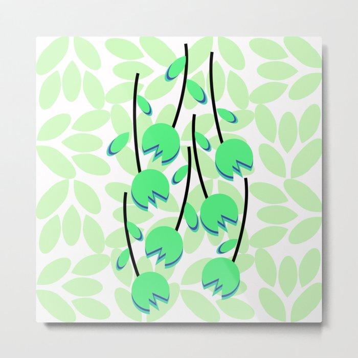 Floral simplicity Metal Print