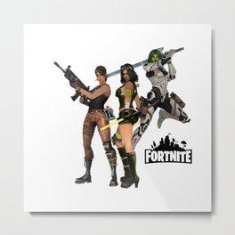 Fortnite Metal Print