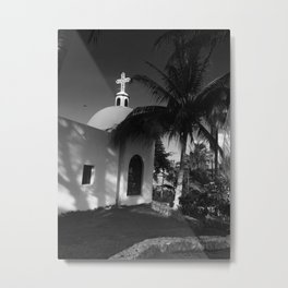 Nuestra Senora del Carmen Catholic Church Metal Print