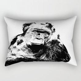 Gorilla In A Pensive Mood Portrait #decor #society6 Rectangular Pillow