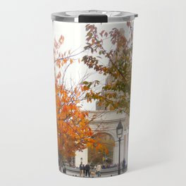 Fall in Washington Square Park, NYC 2 Travel Mug