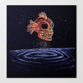Haunting Nemo (Painting) Canvas Print
