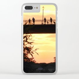 Sunset Seekers Grand Trunk Trail Clear iPhone Case