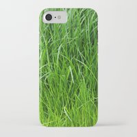 grass iPhone & iPod Cases featuring grass by Кaterina Кalinich