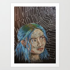Clem - Eternal Sunshine of the Spotless Mind Art Print
