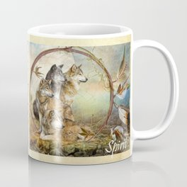 Four Feathers Coffee Mug