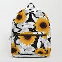 Black & white sunflower by jms_art25