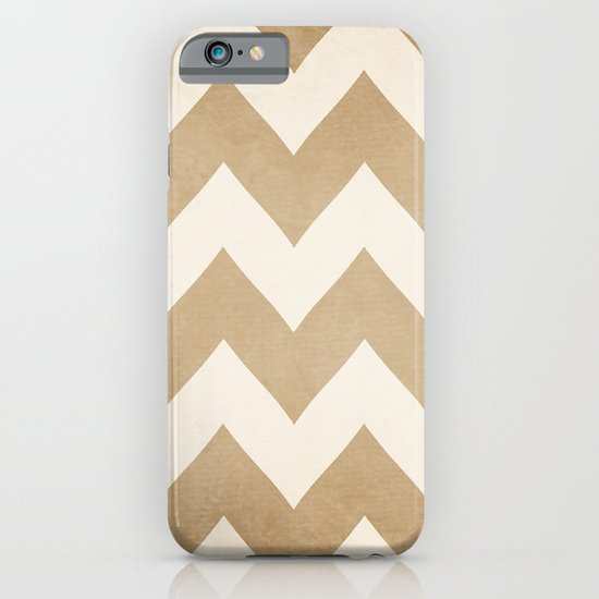 Biscotti & Vanilla - Beige Chevron iPhone & iPod Case