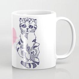 Levitating Cat Coffee Mug