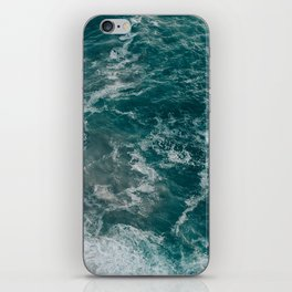 Strong tide iPhone Skin