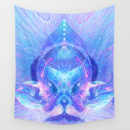 Arcturian Integration Wall Tapestry