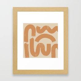 squig Framed Art Print