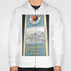 Yellowstone Northern Pacific Rail Time Table Hoody