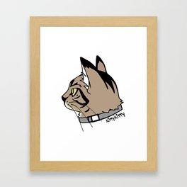 KittyKitty Framed Art Print