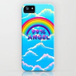 99% Angel iPhone Case