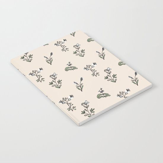 Bright Floral Pattern Notebook
