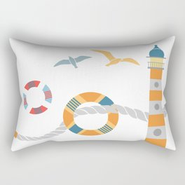 Seaport 1 Rectangular Pillow