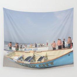 Atlantic City Lifeboats Wall Tapestry