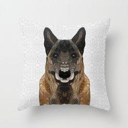 Malinois - Belgian Shepherd Throw Pillow