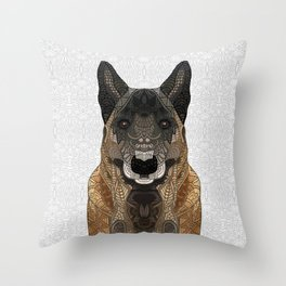 Malinois - Belgian Shepherd Throw Pillow