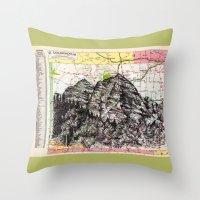 colorado Throw Pillows featuring Colorado by Ursula Rodgers