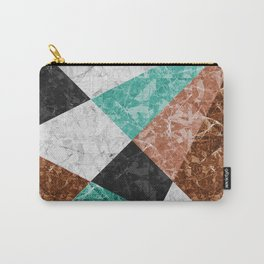 Marble Geometric Background G434 Carry-All Pouch
