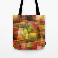 geo Tote Bags featuring Geo by Christine baessler
