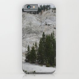 Roaring Mountain, Yellowstone iPhone Case