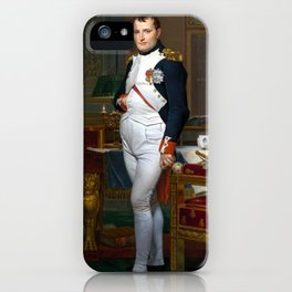 Jacques-Louis David The Emperor Napoleon in His Study at the Tuileries iPhone Case