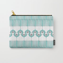 I pick my afro too - (teal) Carry-All Pouch